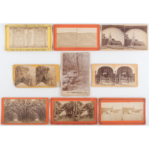 Large Lot of Stereoviews of the American South, Incl. Tennessee, Florida, and New Orleans, Louisiana