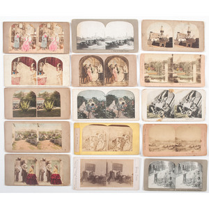 Mixed Lot of Keystone, Underwood & Underwood, and More Stereoviews, Many from the