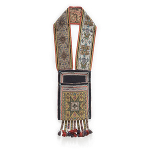 Anishinaabe Loom Beaded Bandolier Bag, From the D.F. Barry Collection