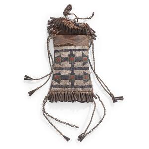 Kiowa Beaded Hide Strike-a-Light Bag
