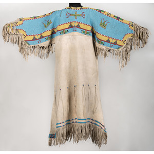 Sioux Beaded Hide Dress