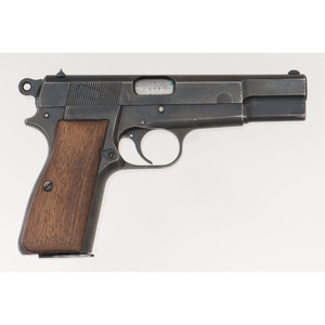 ** Nazi Marked Browning Hi-Power Pistol with Holster