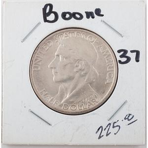 United States Daniel Boone Bicentennial Half Dollar 1937