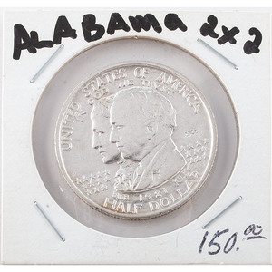 United States Alabama Centennial Commemorative Half Dollar 1921