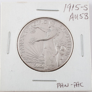 United States Panama-Pacific International Exposition Half Dollar 1915-S
