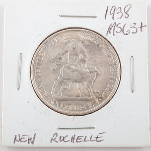 New Rochelle, New York, 250th Anniversary Half Dollar 1938
