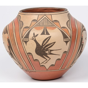 Sofia Medina (Zia, 1932-2010) Polychrome Pottery Jar