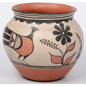 Robert Tenorio (Kewa, b. 1950) Pottery Jar