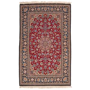 Pakistani Isfahan Silk and Wool Rug
