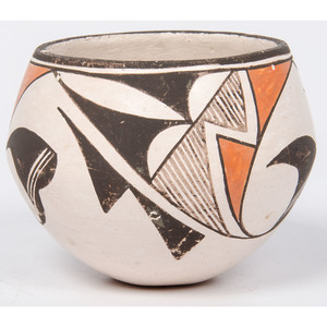 Lucy Lewis (Acoma, 1890-1992) Pottery Jar