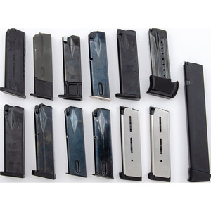 Lot of Thirteen Handgun Magazines