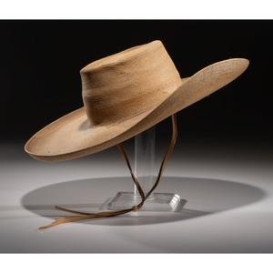 Stuntman's Hat Worn in John Wayne Movie The Searchers(1956)