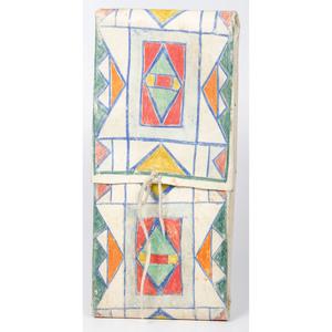 Plateau Painted Parfleche Envelope