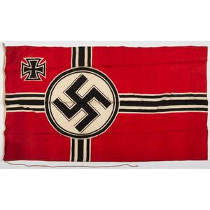 German Third Reich War Ensign