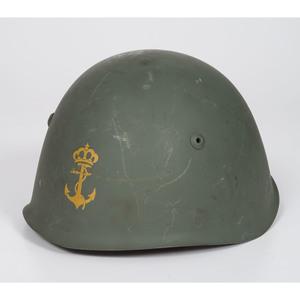 World War II Italian Naval Helmet