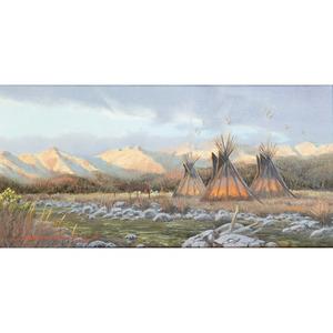 John Cox (American, b. 1941) Oil on Canvas