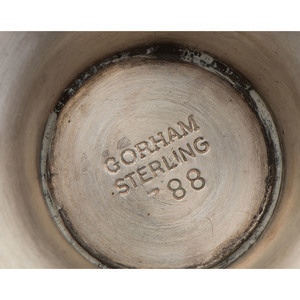 American Sterling Cordials and Casters