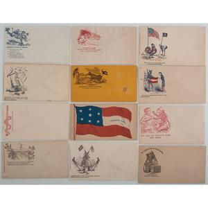 Civil War Patriotic Covers, Lot of 20