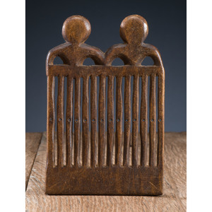 Great Lakes Carved Wood Heddle