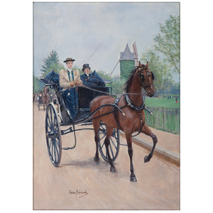 Jean Béraud (French, 1848-1935), The Carriage