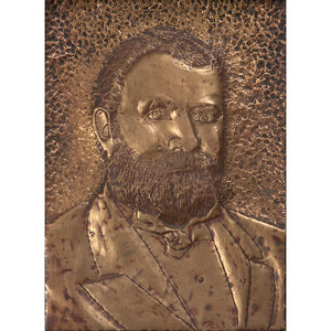 Ulysses S. Grant Metal Portrait