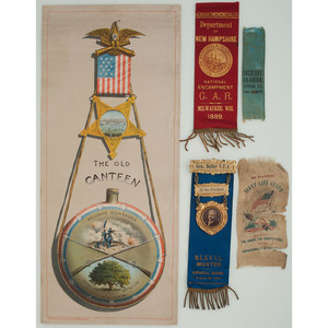 GAR Collection, Including Textile, Print, and Assorted Ribbons