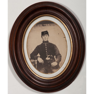 Civil War Albumen and Tintype Photographs of Soldiers, Plus