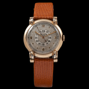 Gruen Veri-Thin Pan American Wrist Watch Ca 1940's