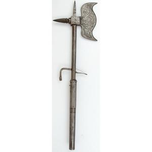 Steel Axe/Matchlock Combination Weapon