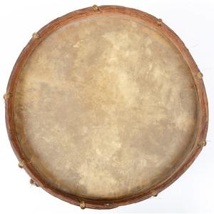 Post-Civil War Painted Commemorative Drum, 1st Philadelphia Cavalry