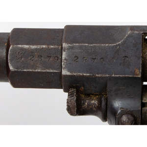 German Erfurt Model 1883 Reichsrevolver