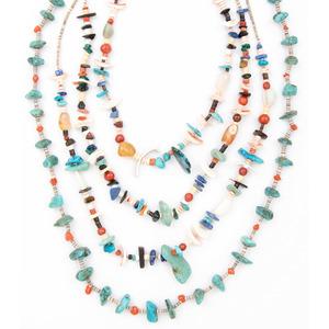 Pueblo Multi-Stone Necklaces