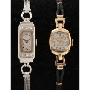 14k Gold Vintage Ladies Watches, Lot of Two