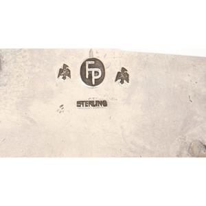 Frank Patania (American, 1899-1964) Sterling Silver Belt Buckle