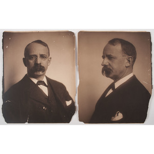 Edward Curtis (American, 1868-1952) Platinum Photographs of Edward Henry Harriman