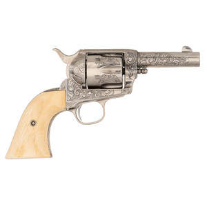 Contemporary Engraved Colt Single Action Model Revolver