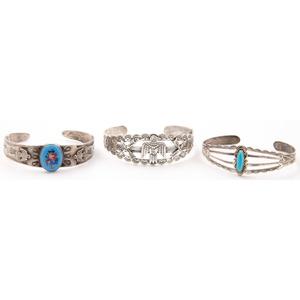 Silver Curio Bracelets