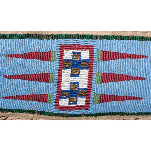Assiniboine Beaded Hide Shirt