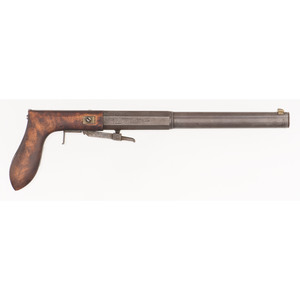 Percussion Underhammer Pistol by Houghton