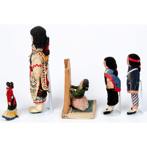 Navajo and Pueblo Dolls, Deaccessioned From the Hopewell Museum, Hopewell, NJ