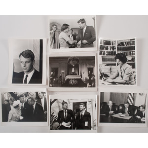 Press Photographs of President John F. Kennedy and Family