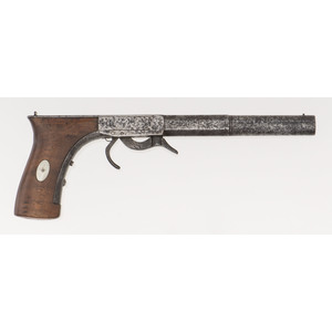 Early Allen Percussion Pocket Rifle