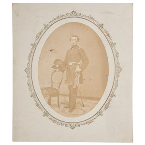 Civil War Photograph of a Michigan Cavalry Officer