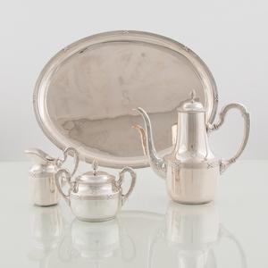 Bruckmann and Söhne .800 Silver Coffee Set