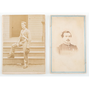 Captain James E. Moore, 17th Connecticut Regiment, KIA Gettysburg, Civil War CDV