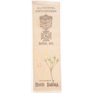 Department of North Dakota, Woman's Relief Corps Photo Ribbon
