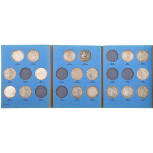 United States Morgan Silver Dollars, Lot of Eighteen
