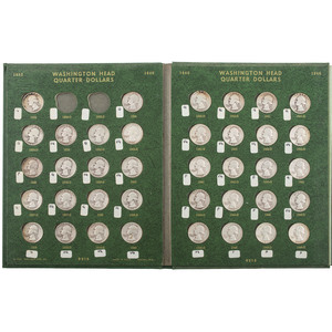United States Washington Quarters Pre-1965, Lot of Eighty-one