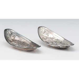 Wallace Sterling Lily Dishes