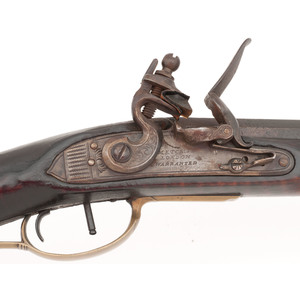Flintlock Kentucky Rifle by Leonard Reedy